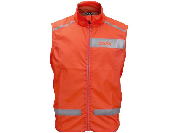 Radiant vest Jr Neon red