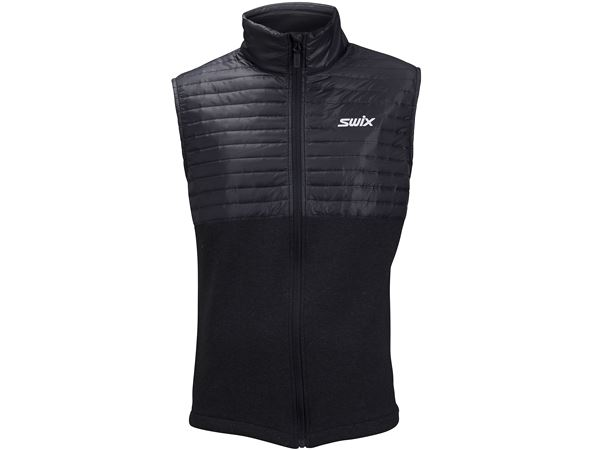 Blizzard hybrid vest Ms Black