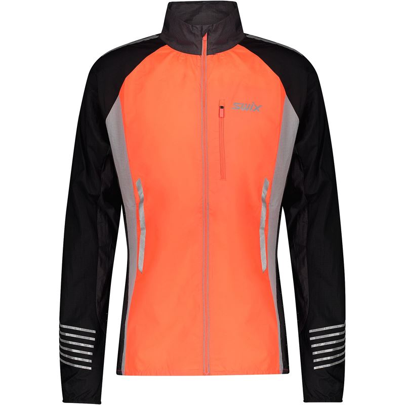 Radiant Jacket Mens Neon red
