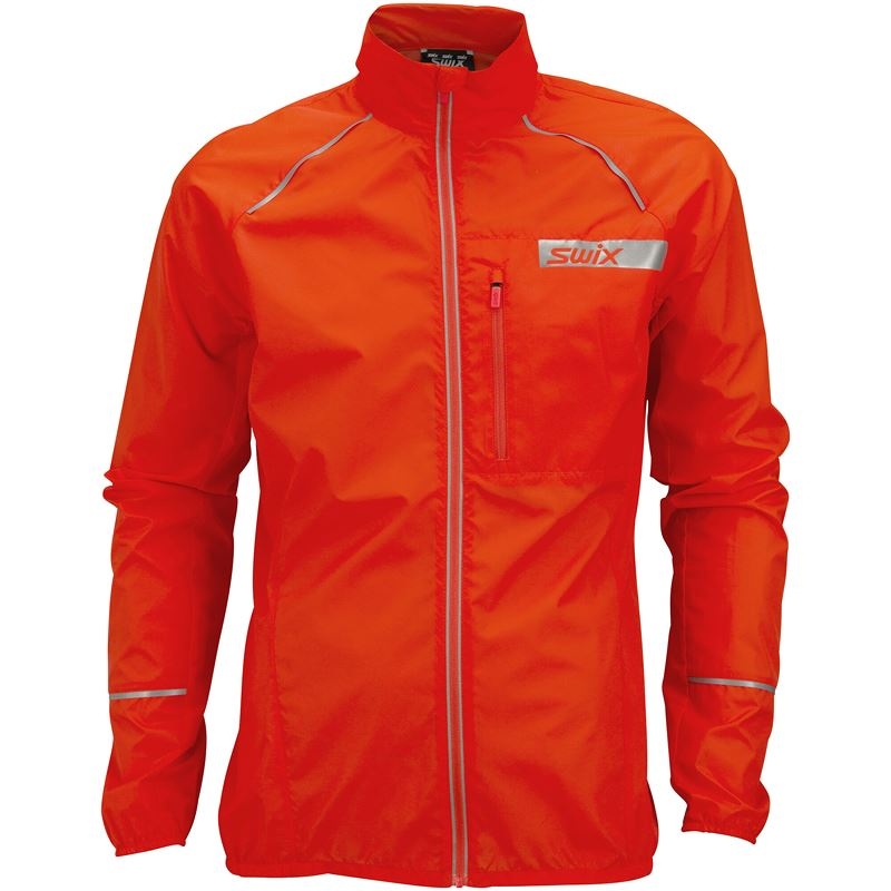 Radiant jacket M Neon red