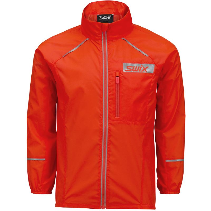 Radiant jacket Jr Neon red