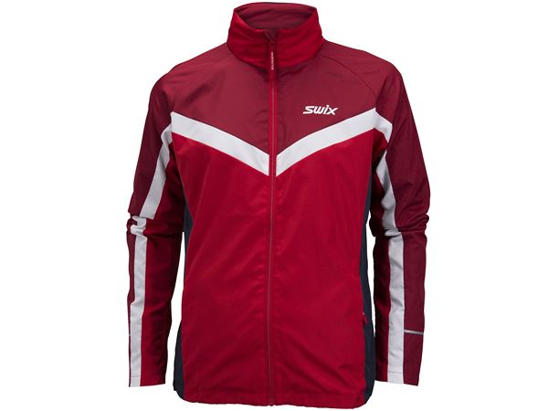 Tracx jacket M Swix red