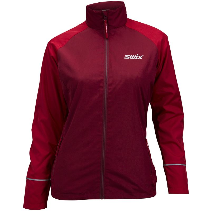 Trails jacket W Swix red