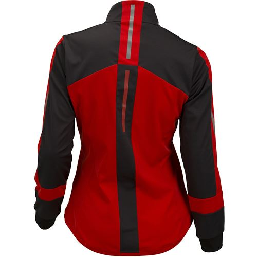 Carbon light softshell jacket W Fiery red