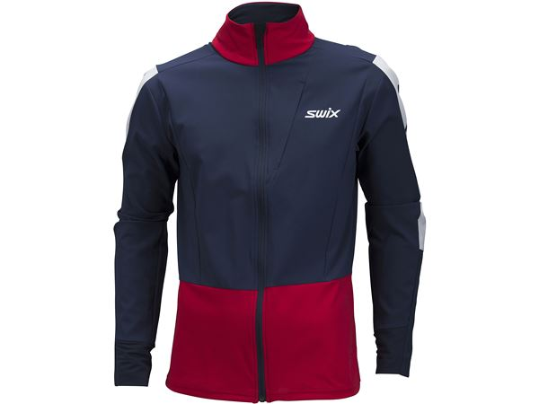 Quantum performance jacket M Dark navy/ Swix red