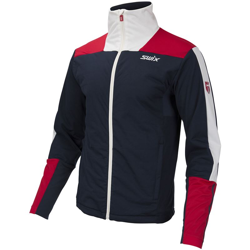 Blizzard XC Jacket M Dark navy/ Swix red