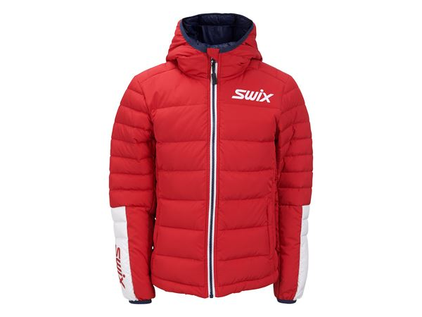 Dynamic down jacket Jr Red