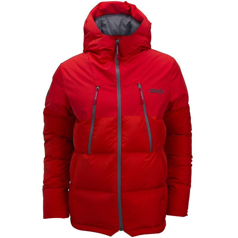 Surmount down jacket U Fiery red