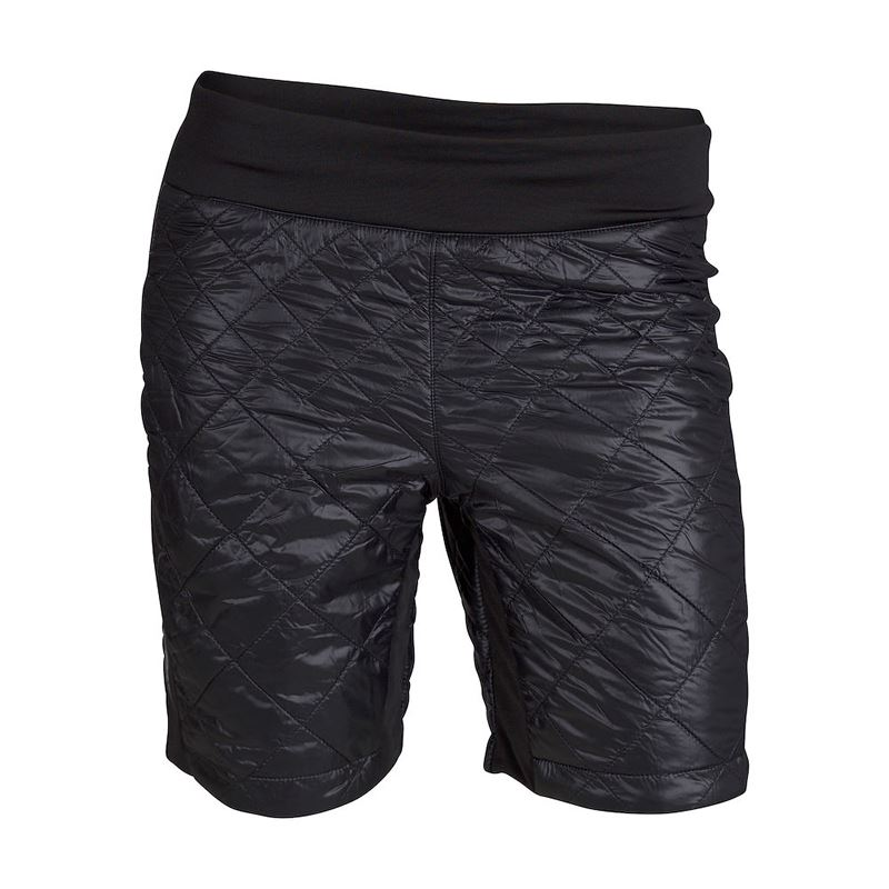 Menali Quilted Short Womens Black