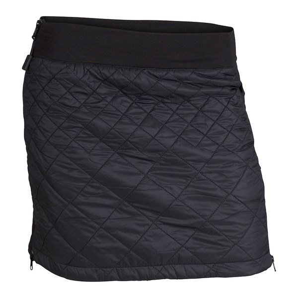 Menali Quilted Skirt Black
