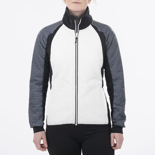 MENALI- Women's Ultra Quilted JKT Snow white