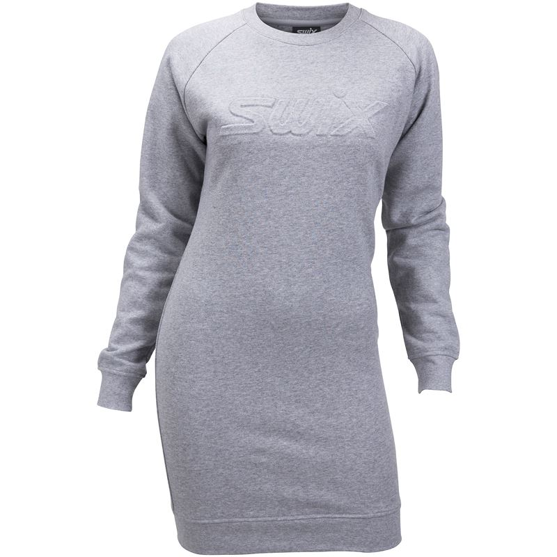 Swix dress W Grey Melange