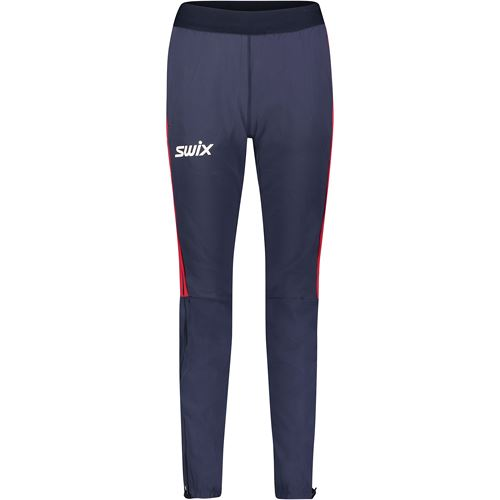 Quantum performance pant M Dark navy/ Swix red