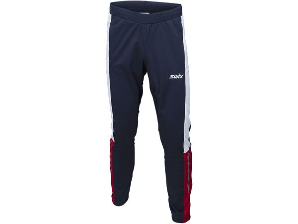 Dynamic pant Mens Dark navy/ Swix red