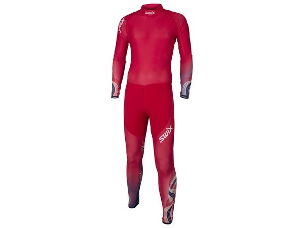 RaceX 1-pcs skisuit Mens Red/New Navy