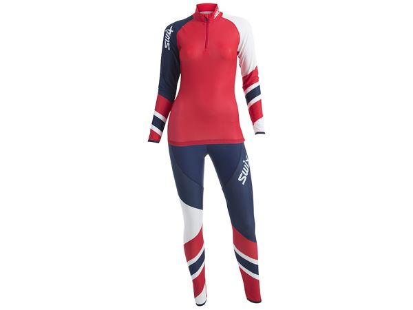 RaceX 2-pcs skisuit Womens Red Elite