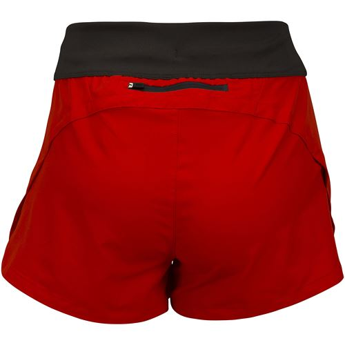 Carbon shorts W Fiery red