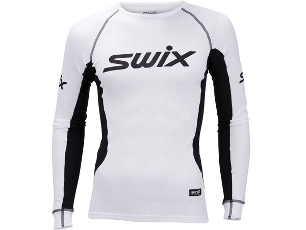 954c847b RaceX bodyw LS Mens Bright White/Black
