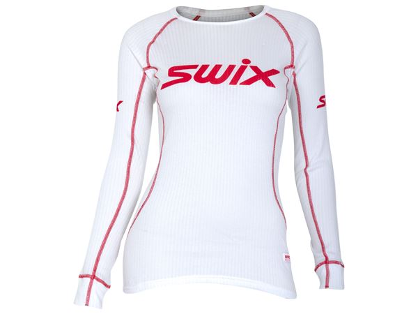 RaceX bodyw LS Womens Bright white