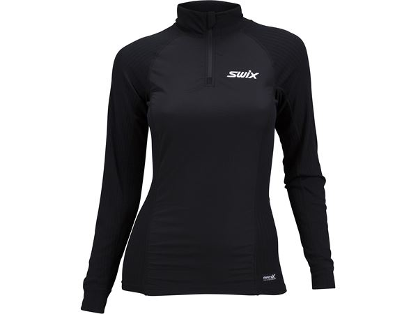 RaceX bodyw halfzip wind Womens Black