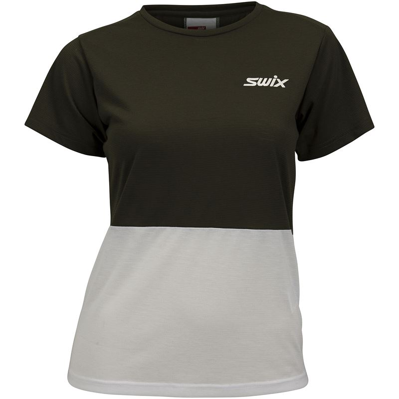 Motion Adventure t-shirt W Dark Olive
