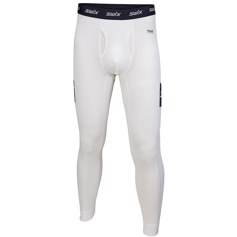 RaceX Warm Bodyw Pants M Snow white