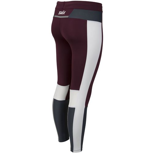 Motion Premium tights W Dark aubergine