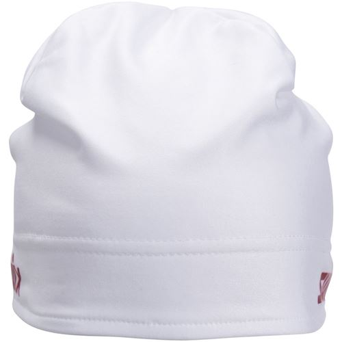 Race warm hat Bright White/Red