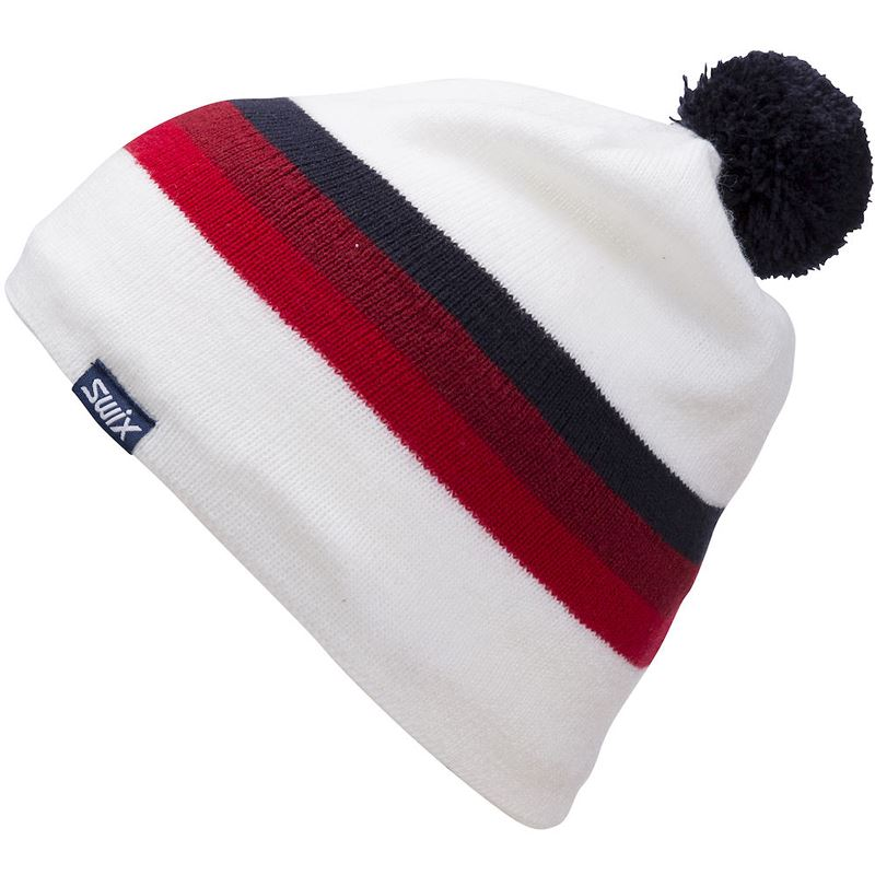 Marka Beanie Jr Snow White/Red