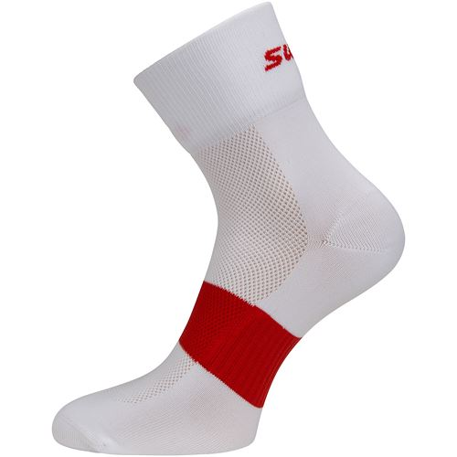 Active sock 2 pk Fiery Red mix