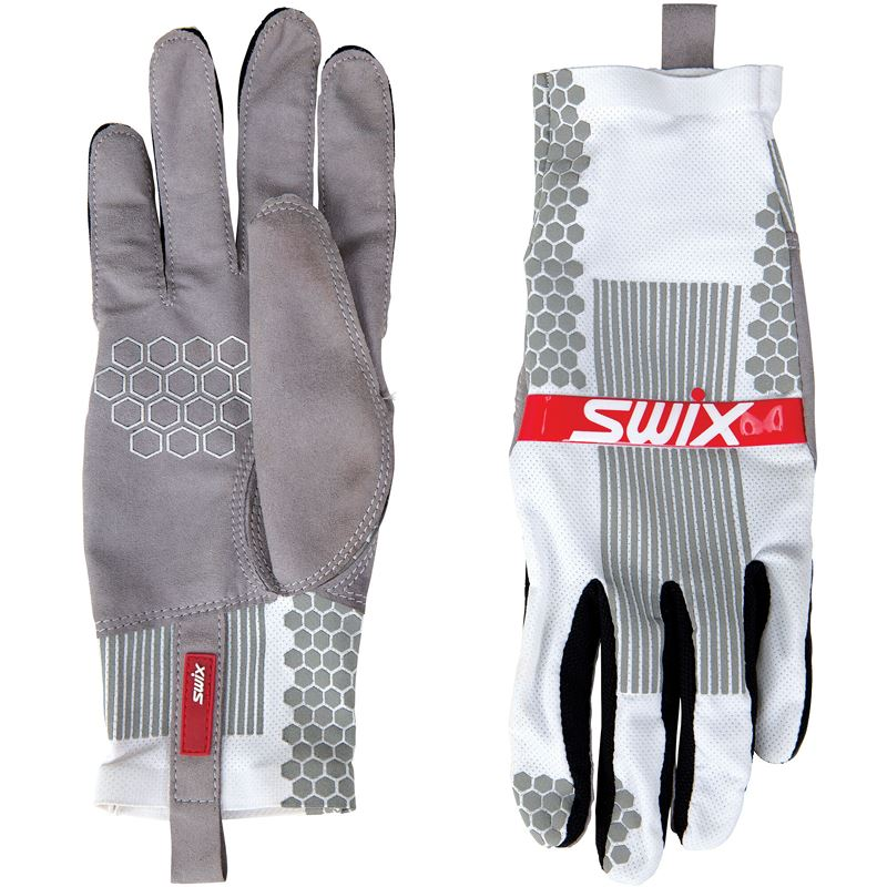 Carbon glove Bright white