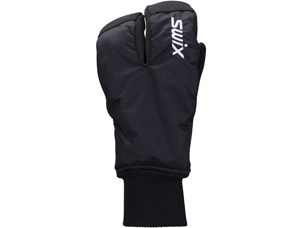 Endure Split mitt Jr Black