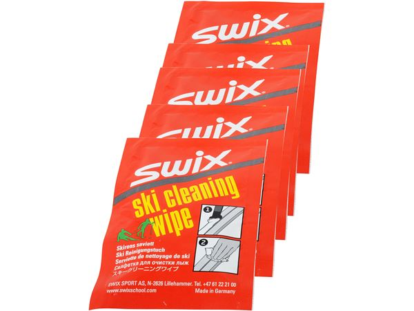 I60C Ski Cleaner Wipe, PK a 5 pcs