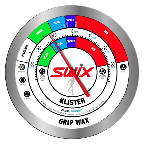 R220 Swix Round Wall thermometer