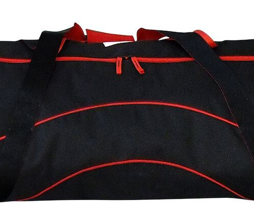 Double Ski Bag Black