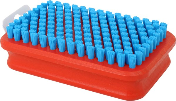 T160B Brush rect., fine blue nylon